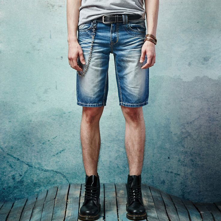 Find More Shorts Information about Knee Length Men Denim Blue Short Jeans 2016 Summer Retro Denim Trousers Top Fashion Casual Slim Straight Casual Jeans size 28 38,High Quality jeans fleece,China jeans children Suppliers, Cheap jeans shir from Kingman on Aliexpress.com