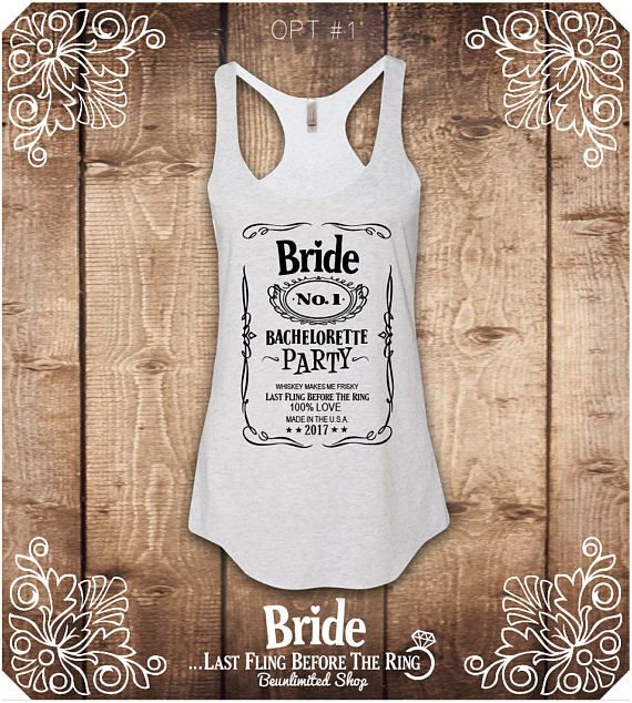 Bride Shirt Bridesmaid T-Shirts Team Bride tank Top Bride