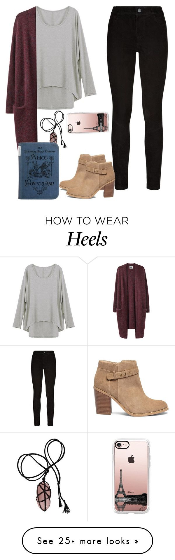 """Untitled #1666"" by blossomfade on Polyvore featuring Paige Denim, Acne Studios, Sole Society and Casetify"