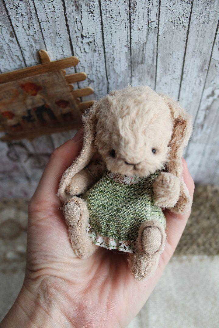 Cute little stuffed bunny!  :)