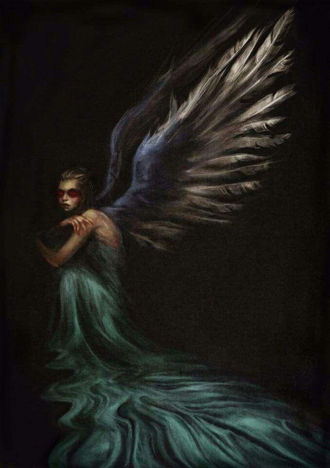 Fallen Angel. Baroque art by Robin Firth