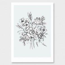 Flowerbomb Art Print by Chloe Ruby