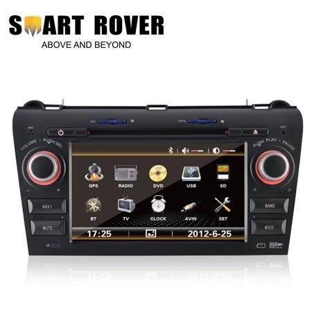 Автомобильный DVD плеер SMART-ROVER DVD GPS Mazda 3 2004/2009 RDS Navi Bluetooth Ipod TMC DVR  — 35403 руб. —