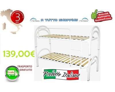 I nostri letti a castello Bianchi  www.atuttoshopping.com