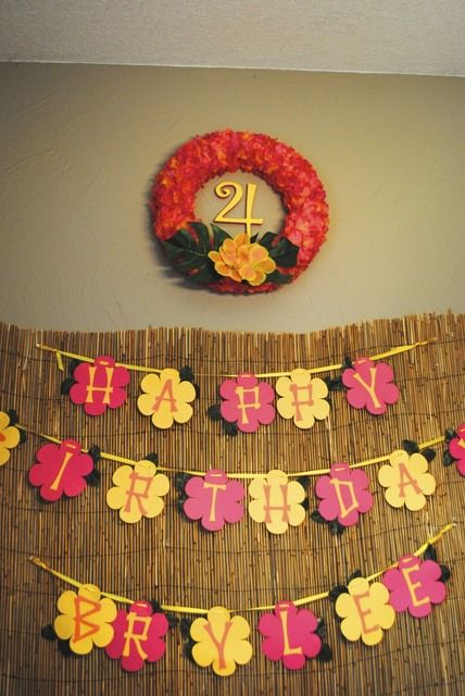Hawaiian Luau Birthday Party Ideas | Photo 19 of 23 | Catch My Party