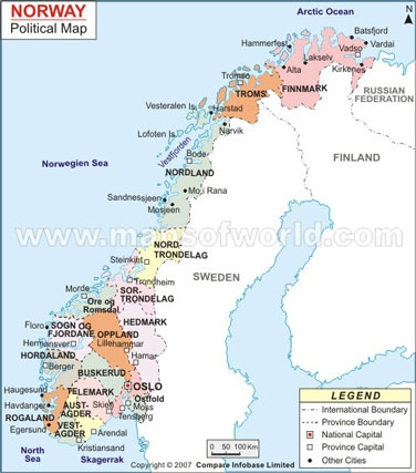 25 melhores ideias de Norway map no Pinterest  Noruega Sucia