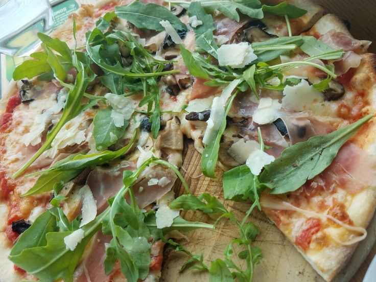 Parma ham pizza from Wildfire.