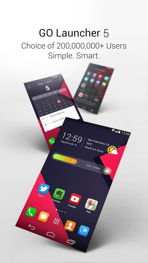 GO Launcher for Android