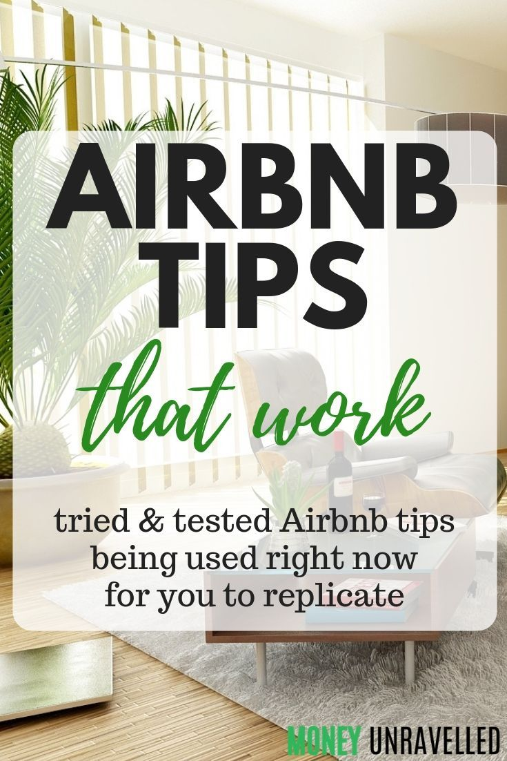 Airbnb Host Tips That Work Personal Finance Pinterest How To