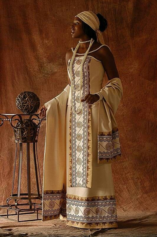 Xhosa bride niiiice pinterest xhosa africans and for Brown dresses for a wedding