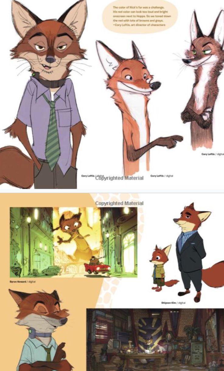 Pixar Character Design Book : Best zootopia concept art ideas on pinterest of