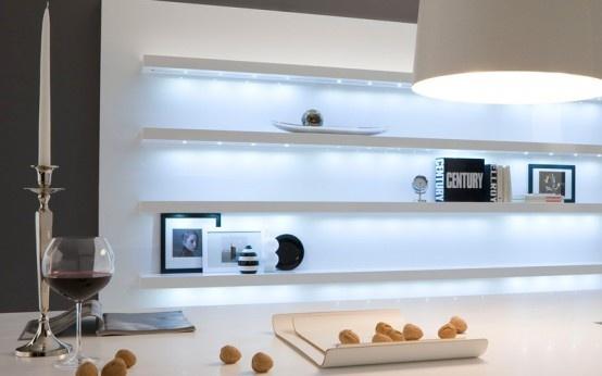 Glossy Black And White Kitchen - Diana By Futura Cucine photo Alessandra Martina