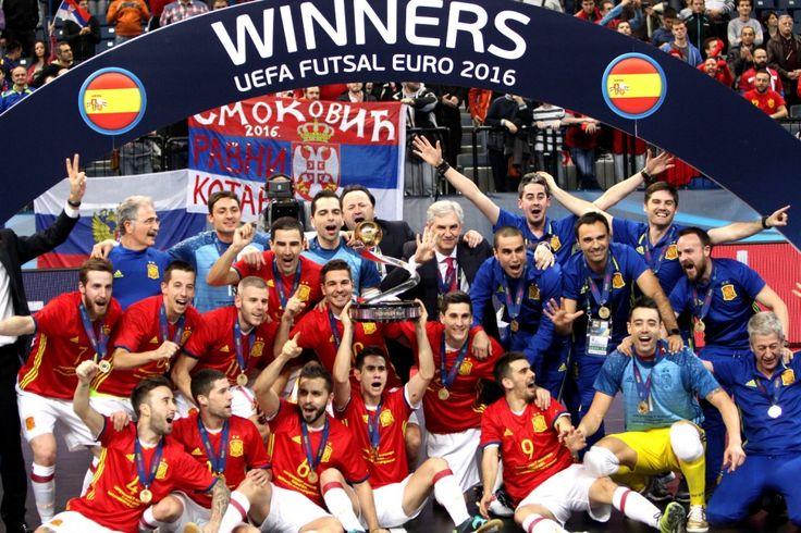Vozpópuli - España, imperial, se proclama heptacampeona de Europa de fútbol sala