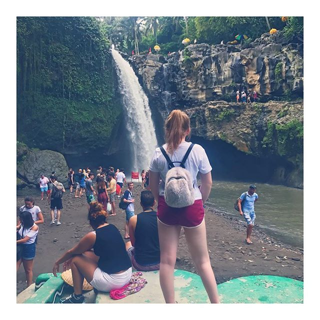 """Splash💦Splash💦Splash💦 ---------------------------------- #travel #travelblogger #travelphotography #travelersnotebook #blogger #beauty #airport #aeroplane #flight #bali #baliisland #indonesia #borabora #fashion #style #curvy #ginger #jumpsuit #newlookmurah #waterfall #tegenungan #tegenunganwaterfalls"" by @olivialilybucknall. #pic #picture #photos #photograph #foto #pictures #fotografia #color #capture #camera #moment #pics #snapshot #사진 #nice #all_shots #写真 #composition #фото #europe…"