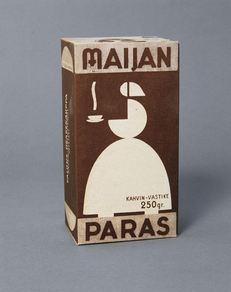 Mainos: Kahvi Maijan paras, 1940-luku