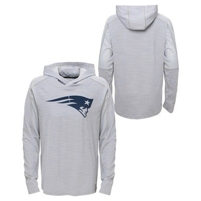 Activewear Sweatshirt NFL New England Patriots Team Color XS, Boy's
