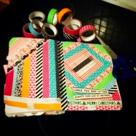 Tape this page Wreck this journal