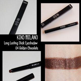 MichelaIsMyName: KIKO MILANO Long Lasting Stick Eyeshadow 04 Golden...