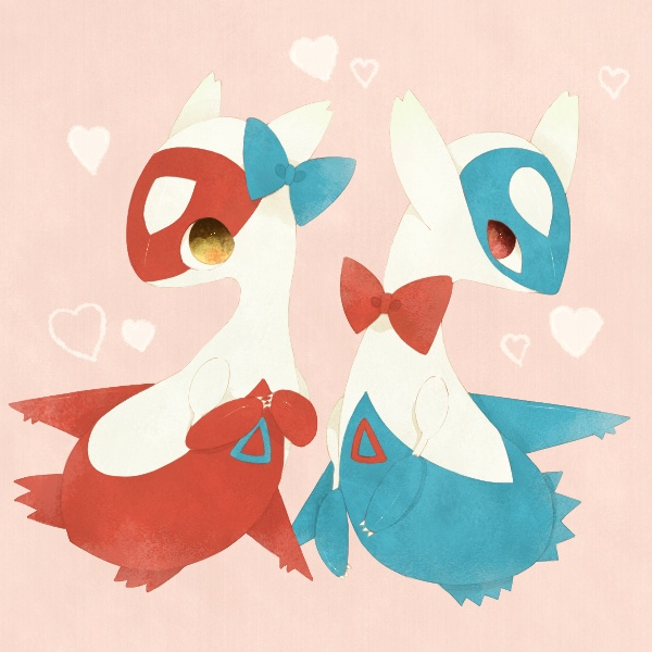 Latias & Latios. Don't forget to like this Pokemon Facebook page for more cool Pokemon content: http://www.facebook.com/shinydragonairx