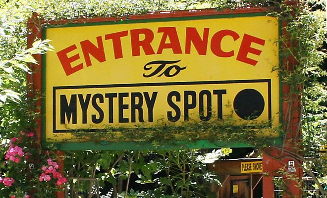 #WorldFamous #MysterySpot, that just might make you believe that #magic is real.