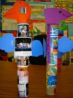 Totem Pole Project- fun way to have students learn about themselves, their traditions, and celebrate their individuality in a fun way!