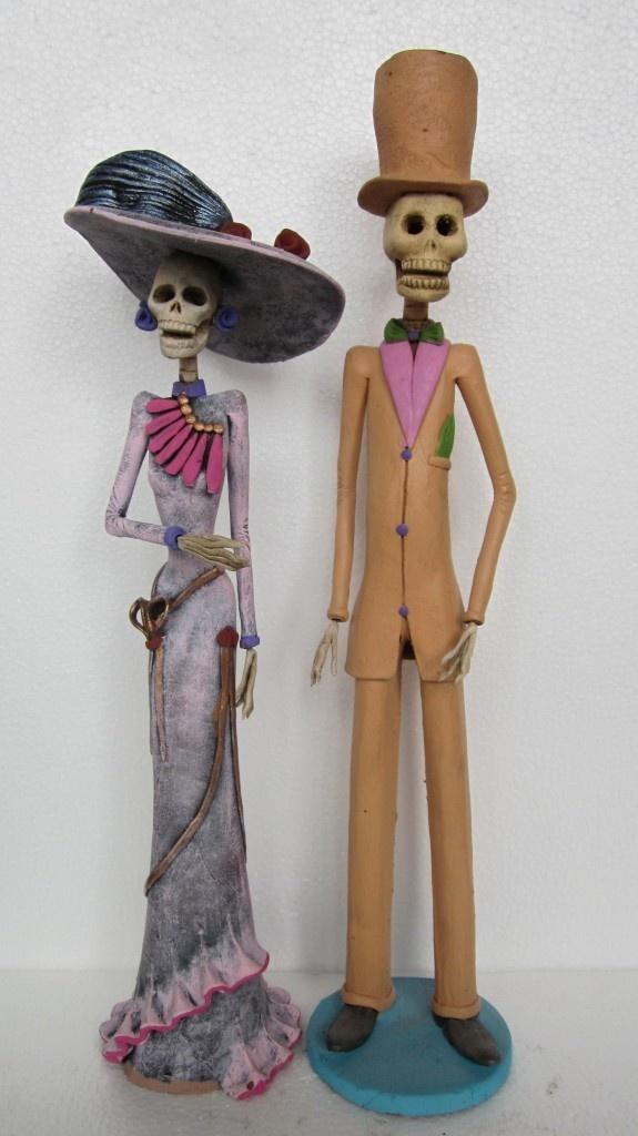 2 CATRINAS mexican