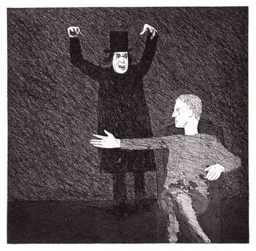 David Hockney Illustrates the Fairy Tales of the Brothers Grimm | Brain Pickings