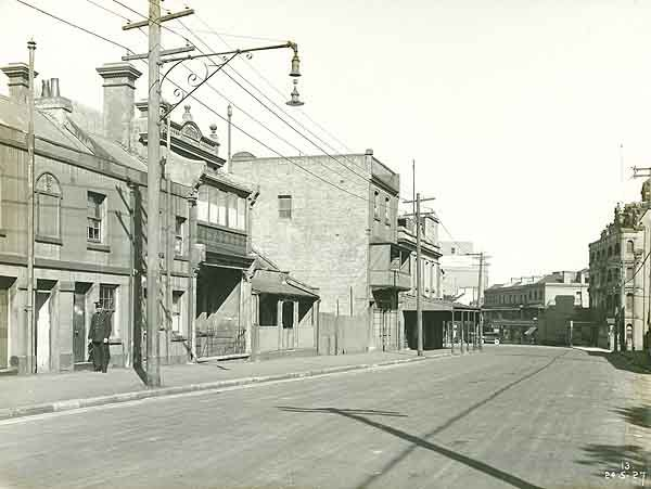 Princes St looking south from near Essex St. State Records NSW - Photo Investigator