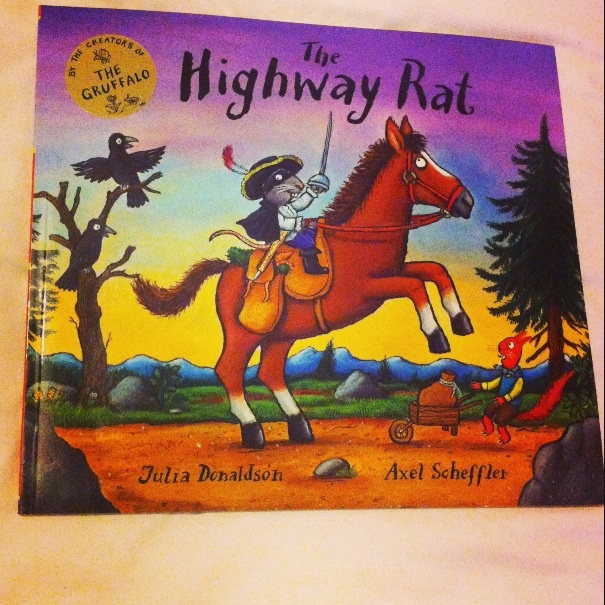 'The Highway Rat' is a fun book for the lower stage of primary school. The book was written by Julia Donaldson, creator of The Gruffalo, and is filled with beautiful illustrations from Alex Scheffler.