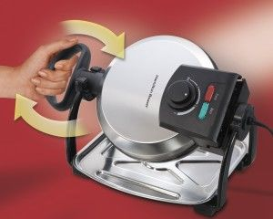 New - My review of the 26010 Hamilton Beach Waffle Maker | http://www.best-waffle-maker.com/26010-hamilton-beach-flip-belgian-waffle-maker/#