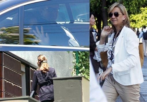 La Infanta Elena no deja sola a su hermana, la Infanta Cristina, en su 48 cumpleaños  http://www.europapress.es/chance/realeza/noticia-infanta-elena-no-deja-sola-hermana-infanta-cristina-48-cumpleanos-20130614090341.html