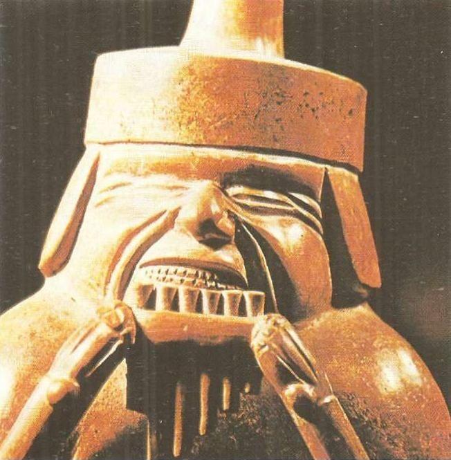 Фигурная керамика. Культура мочики. Побережье Перу. I тыс. н.э.