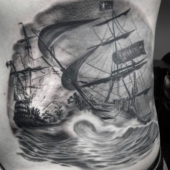 Tattoo Designs Pirate Ships: 133 Best Images About Tattoos On Pinterest