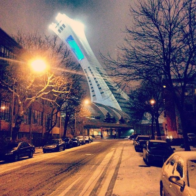 #snow#montreal#livemontreal#olympicstadium#amazing#light#nice#winter#rain#evening | Use Instagram online! Websta is the Best Instagram Web Viewer!