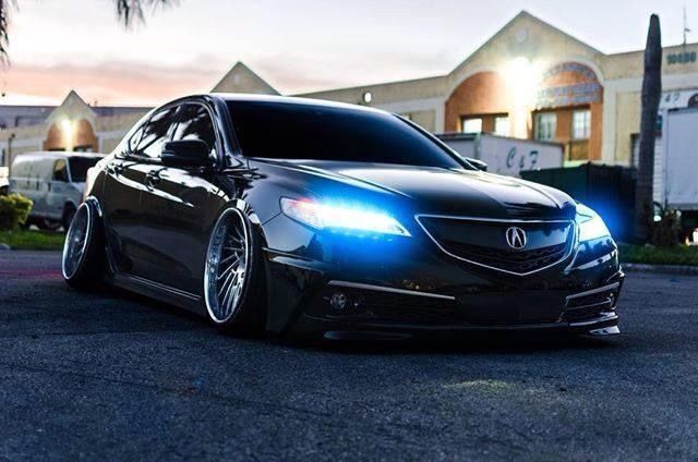 #Acura #TLX #Slammed #Camber #Modified