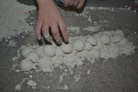 """I first saw this fun """"dough"""" at the awesome Tinkerlab  back in November. I thought it sounded interesting and it couldn't be more simple t..."""