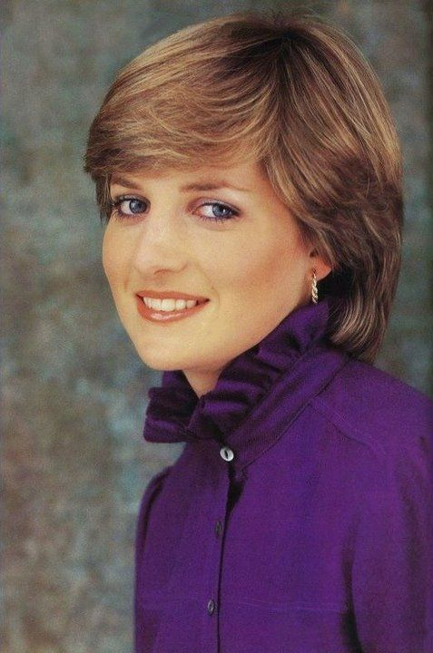 Lady Diana Spencer November 1980. A formal shot taken to celebrate her engagement to Charles.