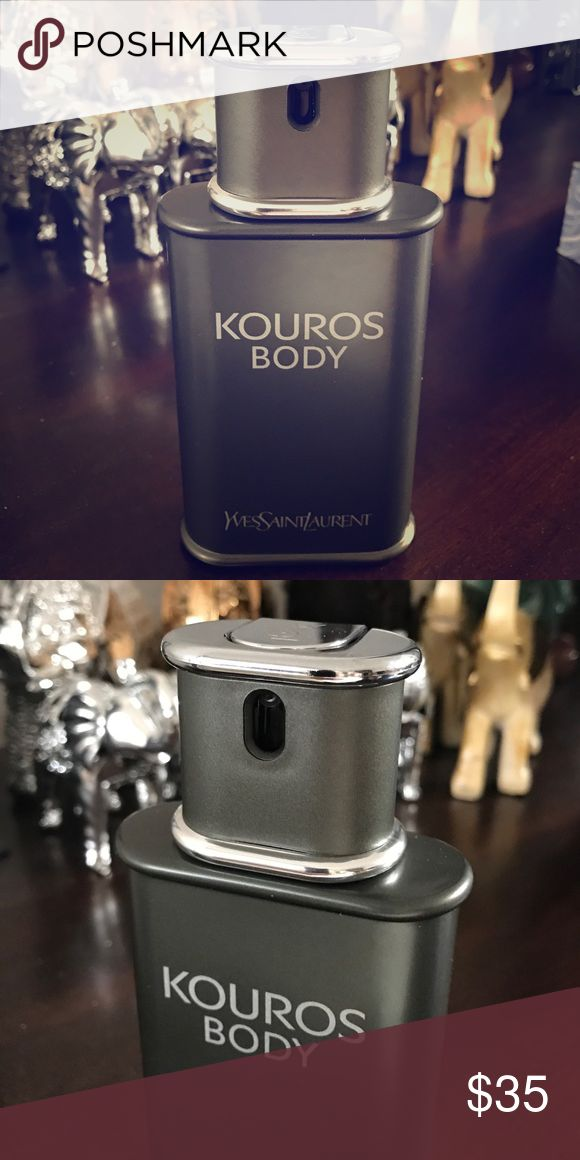 Yves saint laurent kouros body perfume Almost brand new. Bought it online, threw away the box but then at 1st spray found out it didn't suit me. Sprayed it twice so its like new. Yves Saint Laurent Other
