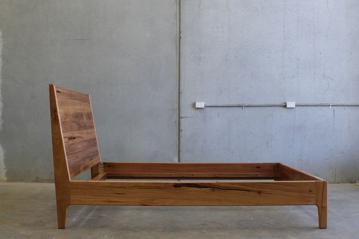 Queen Bed in Reclaimed Timber by CHRISTOPHER BLANK