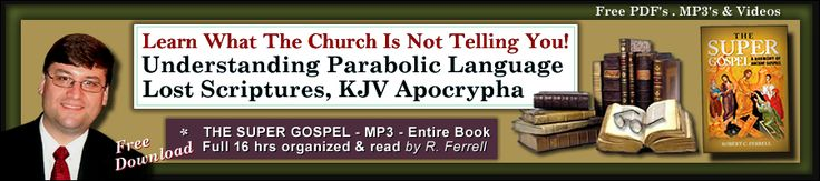 EXCELLENT WEBSITE TO CHECK OUT ! Jesus spoke in Parables, but it was more than just a parable He was speaking. It was a Language... a Parabolic Language and all the Writers of the Canon, Lost Prophets (Books), Book of Enoch, Gospel of Thomas the Apocrypha along with others... All spoke this same Language. Know the Language then you will see & know what is or what is not inspired. ... We at Scriptural-Truth.com help others to recognize His Language, His Parabolic Language...   His Voice…