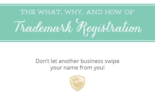 The what, why, and how of trademarks. Learn more and register yours easily.