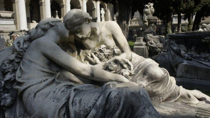 Il cimitero di Staglieno, quì dove riposa Fabrizio De Andrè