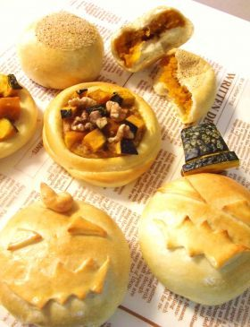 「かぼちゃあんぱん&ソイ・パンプキン」マーベリーノ | お菓子・パンのレシピや作り方【corecle*コレクル】