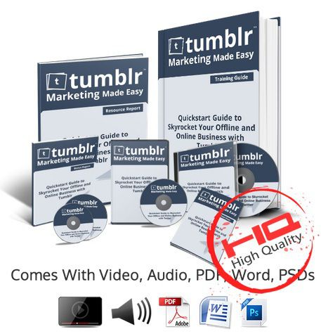 Tumblr Business In a Box Monster PLR – TOP Complete Tumblr Training That Reveal How To Safely Skyrocket Business Online Presence With Tumblr Quickly And Easily