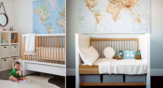 giant world map for nursery from IKEA BABY Pinterest World Maps Maps