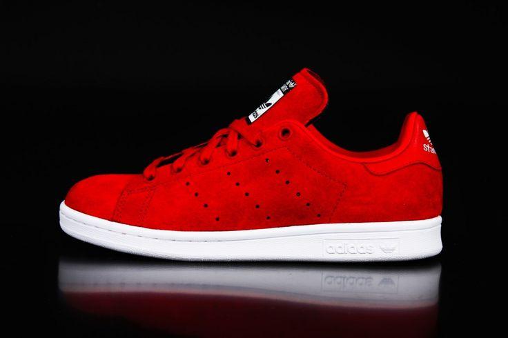 Adidas - Adidas Stan Smith W Power Red PowRed Future White S75237 - Fahrenheitstore