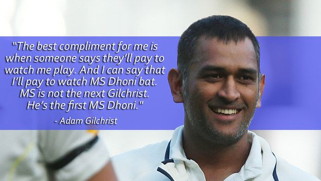"""""""I would go to war with Dhoni by my side."""" - Gary Kirsten"""