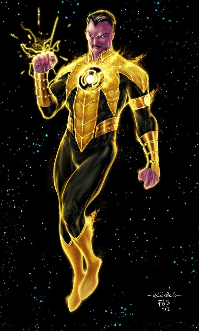 Sinestro Yellow Lantern - Chimeraic colors by SpiderGuile on deviantART