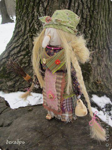 Куклы Шитьё Бабуся Ягуся Ткань фото 1
