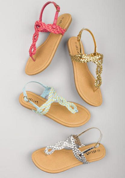 Cute summer sandals <3 I love the pink & silver pairs!!!!!!!